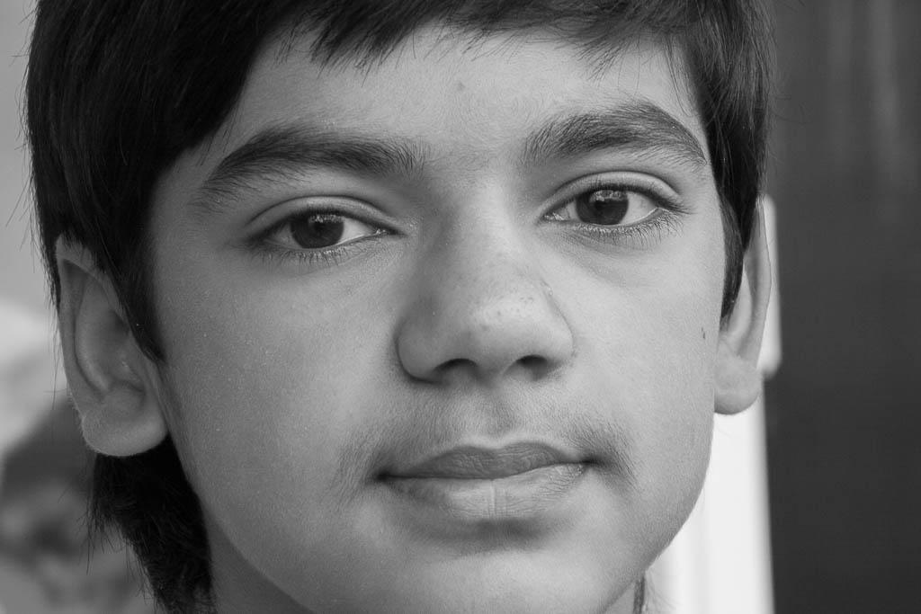 De Nepalese Rus Anish Giri was op zijn vijftiende ook al niet snel van zijn stuk te brengen