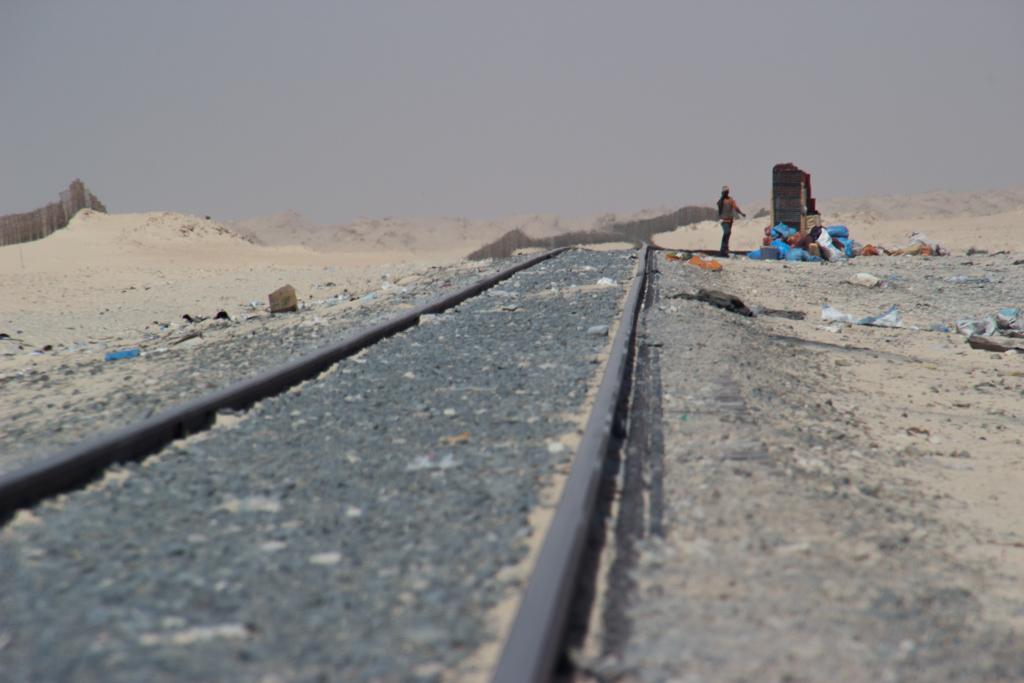 Bovenop de befaamde ijzerertstrein dwars door Mauritanië (in duizend woorden en twaalf beelden)