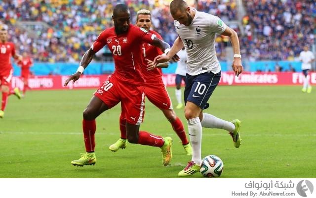 سويسرا و فرنسا