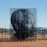 لوحة فنية لـ نيلسون مانديلا