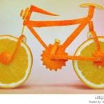 تصميمات عجيبة بواسطة المواد الغذائية الطازجة