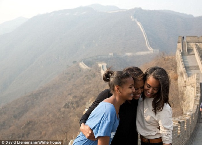 زوجة أوباما