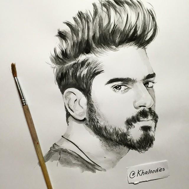 رسومات ابداعية من الفنان الاماراتي khaloodies