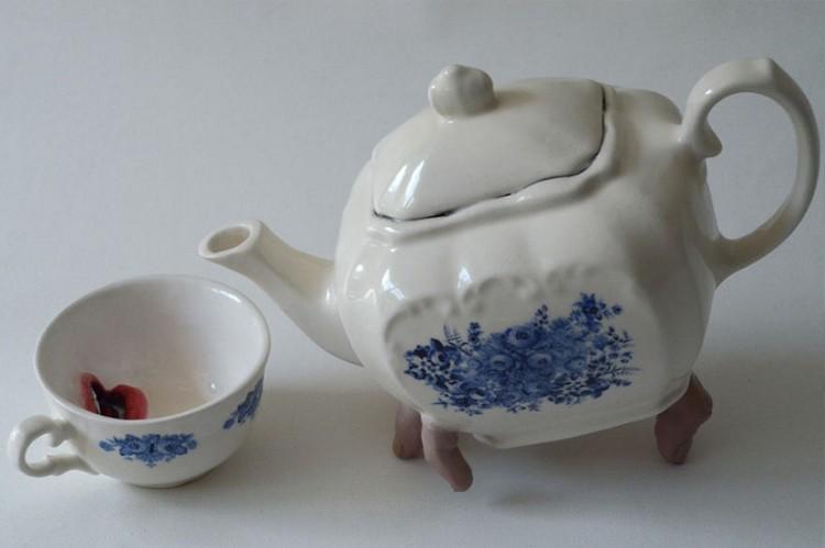 إناء شاي