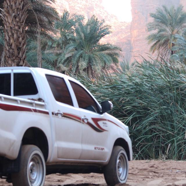 الطبيعة الخلابة في السعودية في تبوك