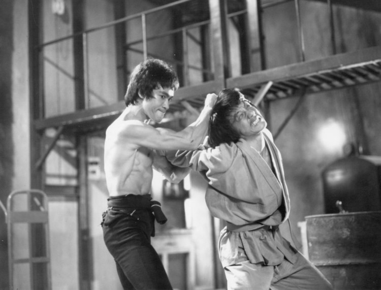 Bruce Lee beat up Jackie Chan
