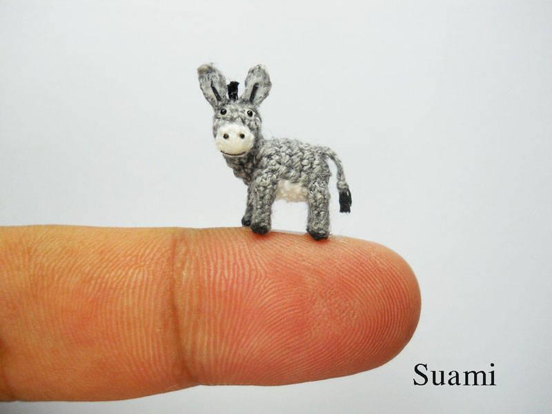 Crocheted Tiny Animals  14