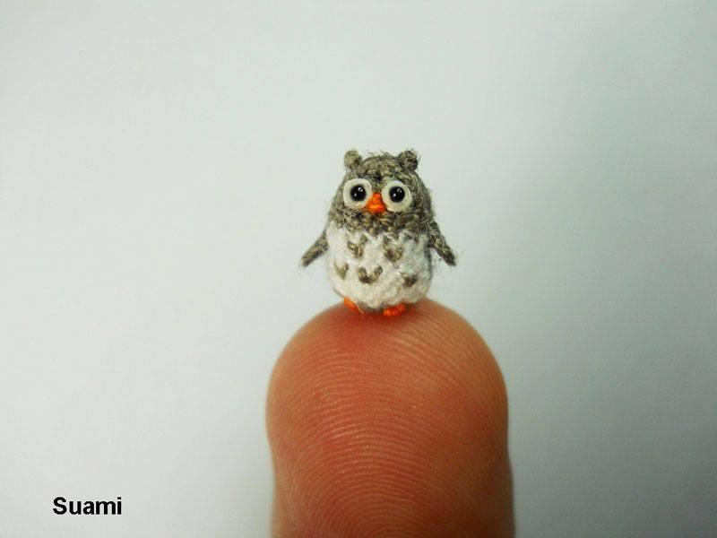 Crocheted Tiny Animals 4