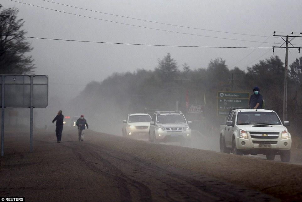 انفجار بركان كالبيوكو في تشيلي