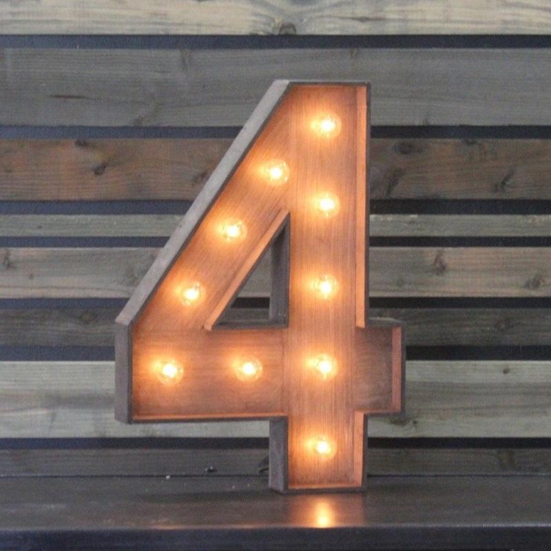 الرقم 4