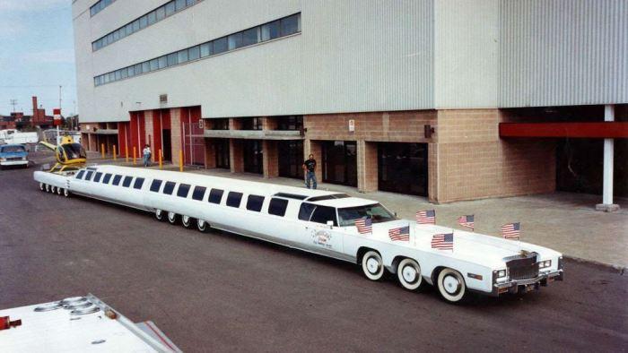 أطول سيارة في العالم في أغرب الأرقام القياسية في عالم السيارات
