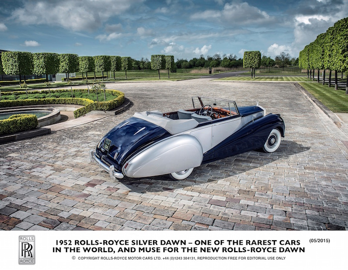 رولز رويس داون  Rolls-Royce Dawn 1