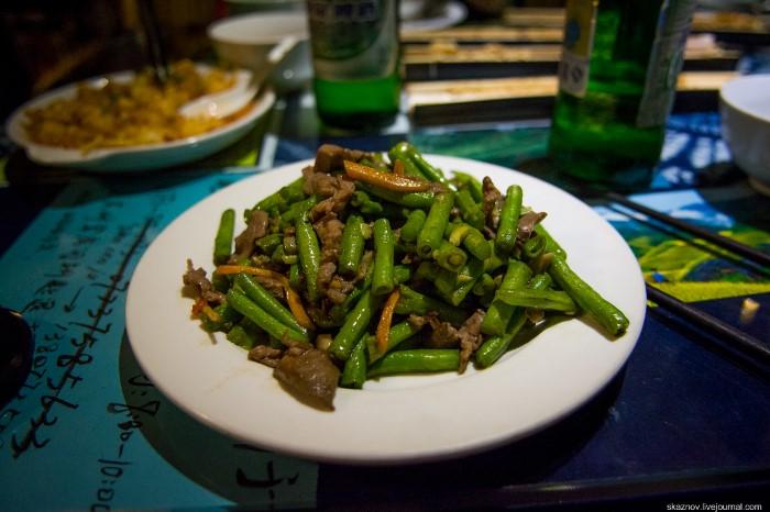 أطباق صينية غريبة