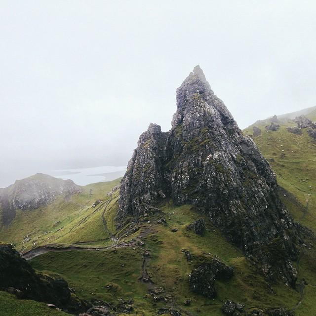 منحدرات صخرية