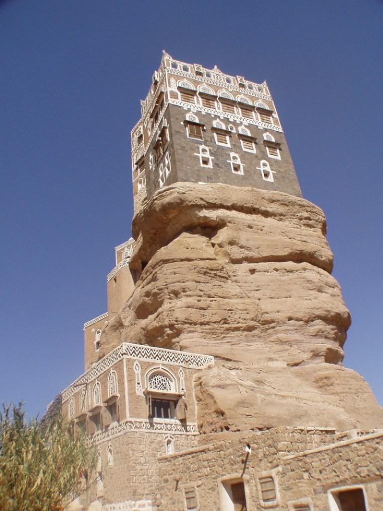 بلدة شبام في حضرموت