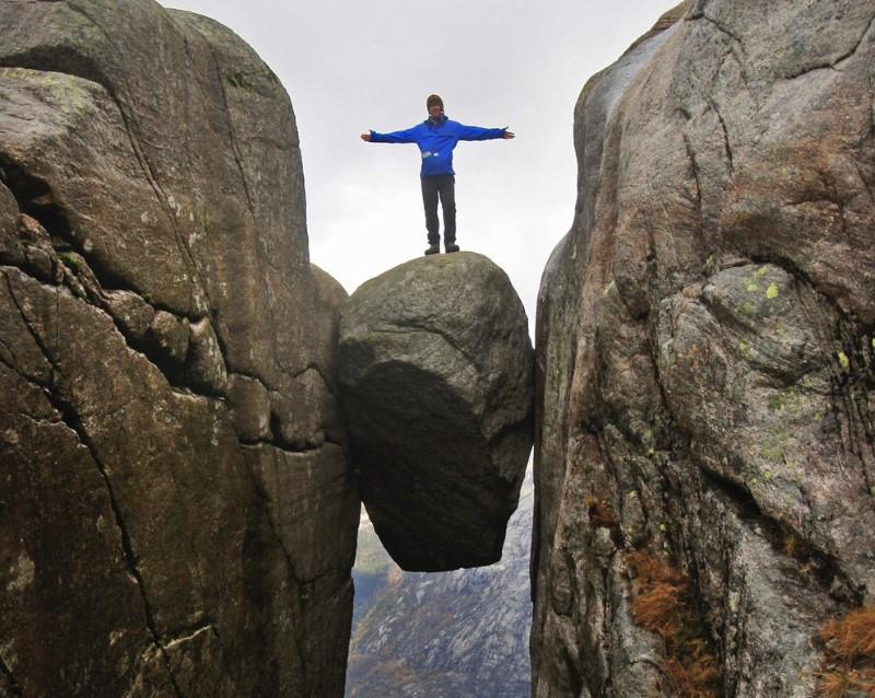 صخرة كيراجبولتن في النرويج