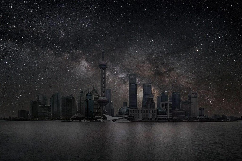 مدن مطفأة الانوار