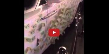 فيديو سيارة مزينة
