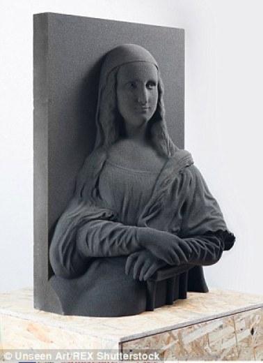 لوحة الموناليزا ثلاثية الأبعاد