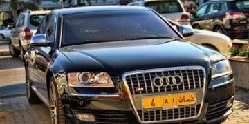 Omani number plates