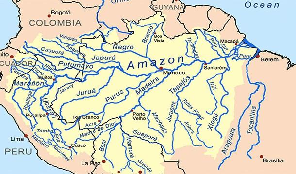 خريطة نهر