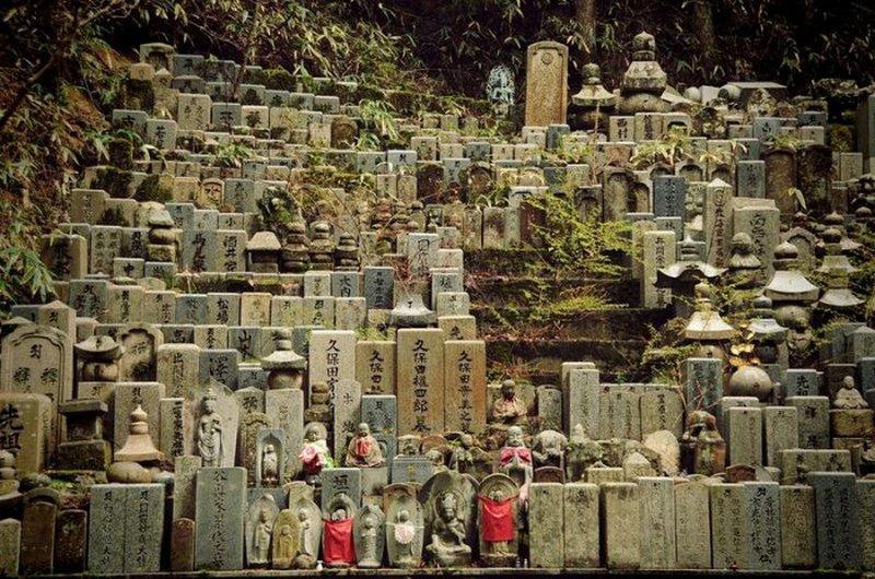 أكبر مقبرة في اليابان