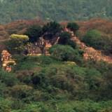 اكتشاف مدينة المايا