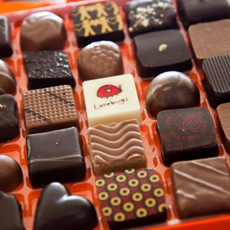مدن الشوكولاتة