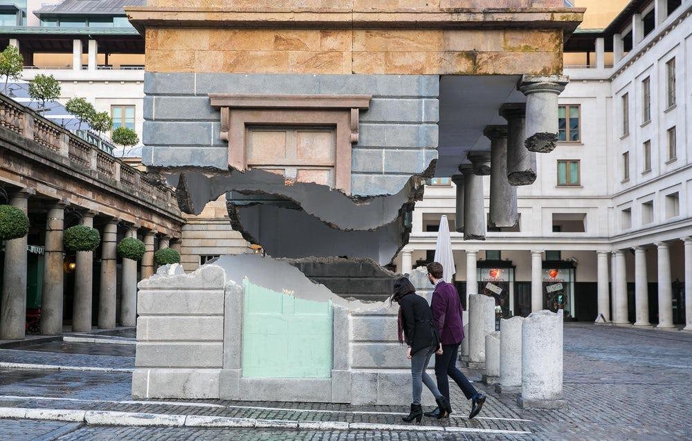 فن الأوهام المعمارية