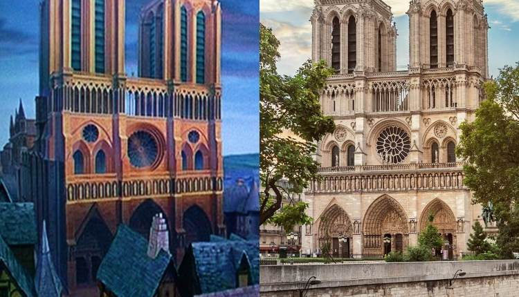 أحدب نوتردام: كاتدرائية نوتردام، باريس 2961714