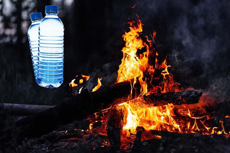 طرق لإشعال النيران باستخدام المياه