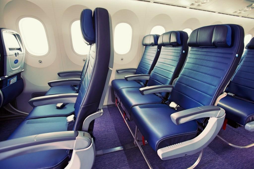 مقعدك في الطائرة