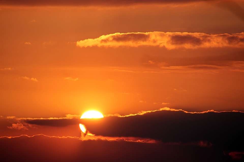 اختفت الشمس