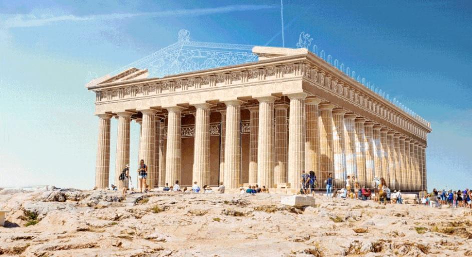 صور متحركة: كيف كان شكل المباني القديمة الشهيرة في الواقع؟