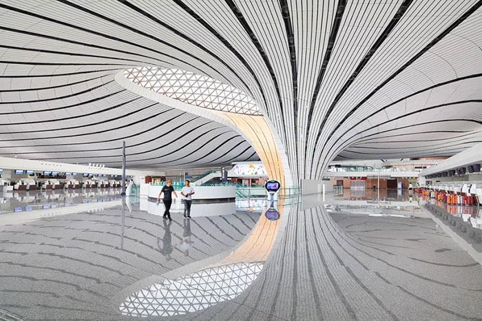 أكبر مطار في الصين