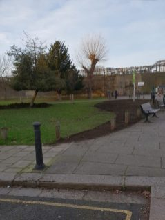 Abundance London Chiswick Piazza Lawn Shape
