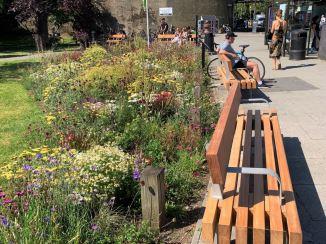 Abundance London Chiswick Back Common Bench Installation 7