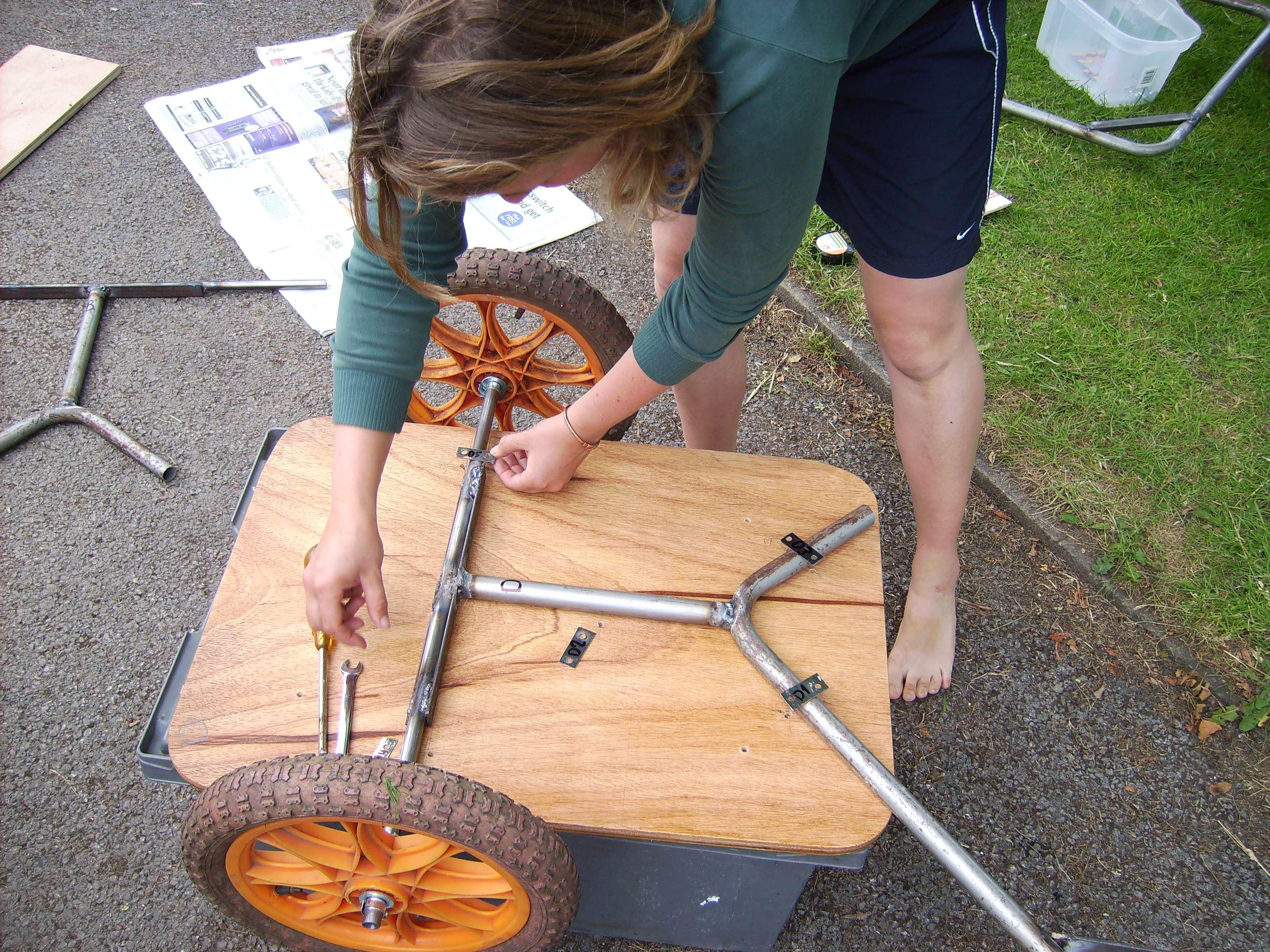 Becky fixing base