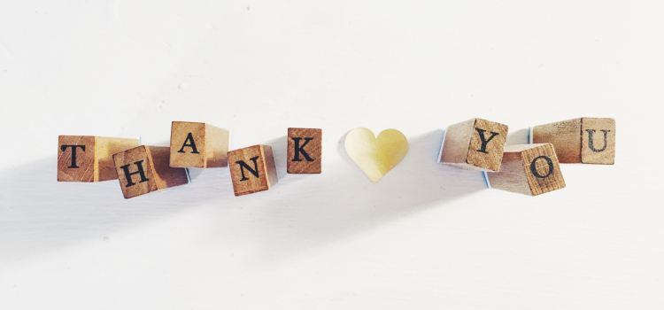 Gratitude and Abundance - Your A-Game | Thank You | Courtney Hedger on Unsplash | Abundant Content