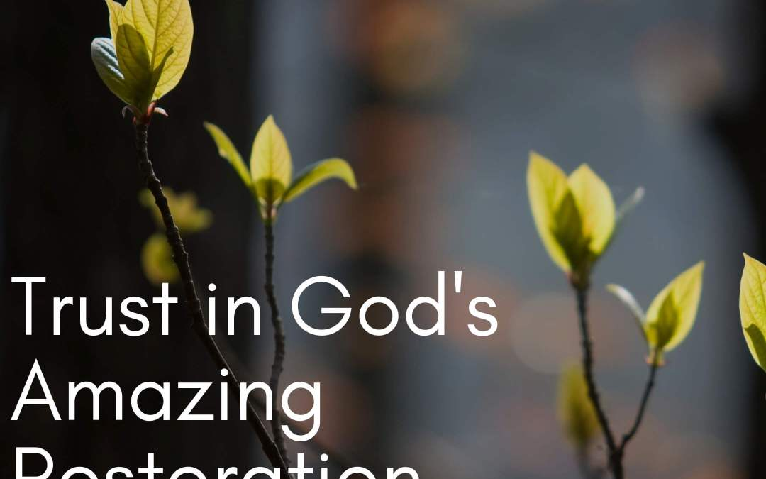 Shattered to Secure – Trust in God's Amazing Restoration and Comfort
