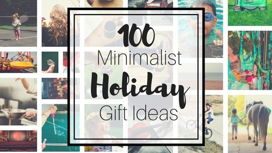 100 minimalist holiday gift ideas