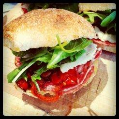 Blackbird sandwich