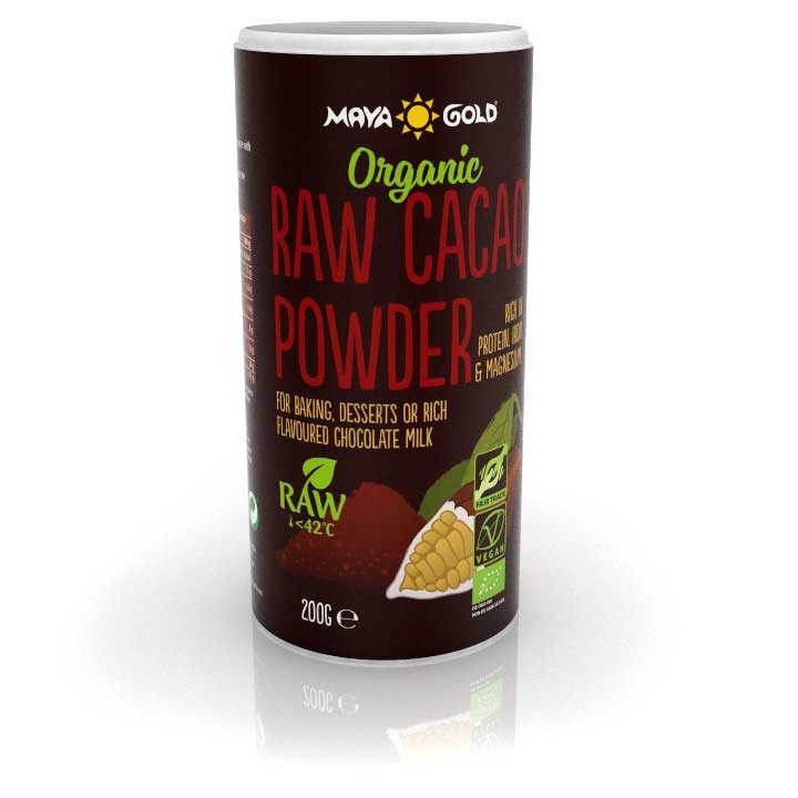 raw cacao powder shaker