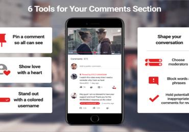 أدوات وميزات جديدة إلى يوتيوب للمبدعين ( في التعليقات ولتعزيز المجتمعات)