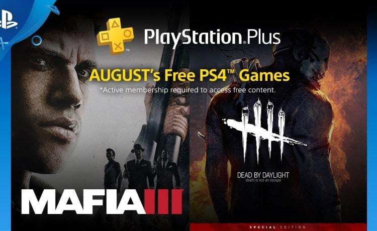 ألعاب بلاي ستيشن بلس المجانية لشهر أغسطس 2018