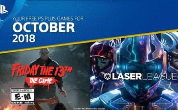 ألعاب بلاي ستيشن بلس المجانية لشهر أكتوبر 2018