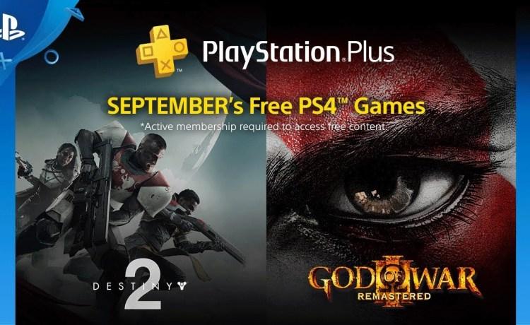ألعاب بلاي ستيشن بلس المجانية لشهر سبتمبر 2018