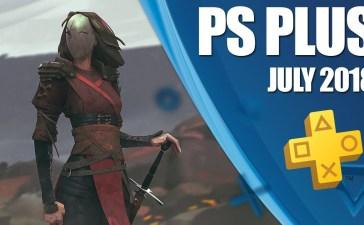 ألعاب بلاي ستيشن بلس المجانية لشهر يوليو 2018