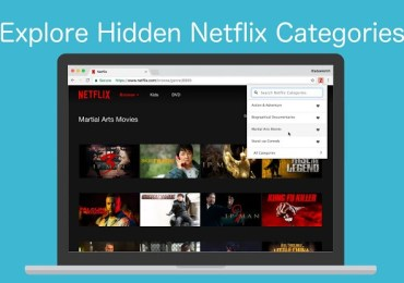 اضافة رائعة للكروم تمكنك من فتح كامل فئات وتبويبات Netflix المخفية