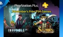 الألعاب المجانية لمشتركي بلاي ستيشن بلس لشهر ديسمبر